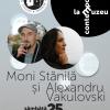 """Scriitori contemporani la muzeu"""" în duo: Moni Stănilă & Alexandru Vakulovski"""