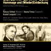 """SILVESTRI – LIPATTI – JORA. Omagiu şi (re)descoperire""- concert extraordinar la Konzerthaus din Viena"
