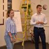 Cristi Lupescu, un elev de 18 ani, a creat The Change Hub, primul hub educațional dintr-o instituție de învățământ de stat din România