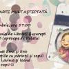 """Atelier pentru copii și părinți, cu Prințesa Urbană, la Salonul Cărții """"Luceafărul"""" din cadrul CLB"""