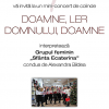 """Concert de colinde, """"Doamne, ler Domnului, Doamne"""", la Librăria Sophia"""