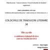 Colocviile de Traduceri Literare 34