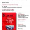 """Lansarea romanului  """"Cronica unui negustor de sânge"""" de Yu Hua, la Brașov"""
