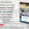 """Despre romanul """"Cei opt munți"""", de Paolo Cognetti, la Serile Italiene"""