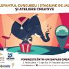 """""""Elefantul curcubeu"""": safari creativ urmat de concerte jazz"""