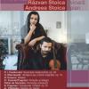 Răzvan Stoica și vioara sa Stradivarius din 1729, pe scena Sălii Radio