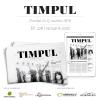 A apărut noul număr al revistei de cultură și politică TIMPUL, nr. 226, din ianuarie 2018