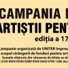 """Campania Naţională """"Artiştii pentru artişti"""", 2018"""
