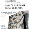 Ionel Ciupureanu și Robert G. Elekes, la Clubul de lectură Institutul Blecher