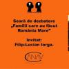 """Dezbaterea """"Familii care au făcut România Mare"""", la Galeria Întâlnirilor – Bistro Matrioska"""
