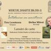 Întâlnire cu scriitorii Ticu Leontescu şi Ştefan Mitroi, la Iași