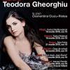 Celebra soprană Teodora Gheorghiu – primul turneu de recitaluri în România