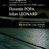 Florentin Popa și Iulian Leonard, la Clubul de lectură Institutul Blecher