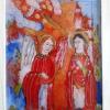 """Vernisaj cu peste 400 de icoane ale elevilor Liceului Pedagogic Ortodox """"Anastasia Popescu"""" din București"""