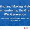 """""""A scrie și a face istorie: generația Marelui Război"""", tema României la Târgul Internațional de Carte de la Londra 2018"""