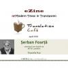 Poeme de Șerban Foarță, în Translation Café