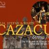 Iulia, Ştefan şi Marin Cazacu String Trio, la Igreja dos Clérigos din Porto