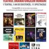 1 teatru, 1 an de existență, 11 spectacole