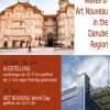 """""""Valurile Art Nouveau. Arhitectură în regiunea dunării """", expoziţie a programului transnaţional ART NOUVEAU DANUBE"""