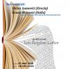 Două biografii: Victor Ivanovici şi Bruno Mazzoni – la Cafeneaua critică, în cadrul Festivalului Internaţional de Poezie Bucureşti/FIPB 2018