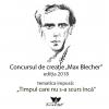 """Câștigătorii concursului de creație """"Max Blecher"""", ediția 2018"""