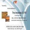 """Conferința """"Presa românească la 1918"""", la Iași"""