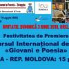 România și Republica Moldova, numeroase premii și distincții la Premiul Internațional de Poezie GIOVANI E POESIA