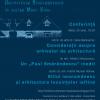 """Conferința științifică din cadrul proiectului cultural """"Arhitectura neoromânească în slujba Marii Uniri"""""""