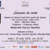 """Prezentarea volumului de poezie bilingv """"Dincolo de tăcere/ Dell'Altra parte del silenzio"""", la Torino"""