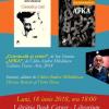 Volume semnate de Ion Stratan și Călin-Andrei Mihăilescu, lansate la Cluj