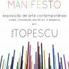 """Expoziția """"Manifest"""" a artistului Mihai Țopescu, la Lisabona"""