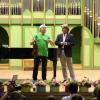 Violonistul rus Maxim Vengerov a susținut un recital la finalul Școlii de Vară Cantus Mundi București