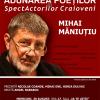 """Scriitorul Mihai Măniuțiu, la """"Adunarea Poeților și a SpectActorilor Craioveni"""""""