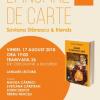 """""""Saviana Stănescu & friends"""", la Tramvaiul 26"""