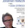 Jonathan Franzen în dialog cu Cătălin Ștefănescu, la Cinema Muzeul Țăranului