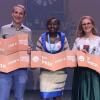 """Finala internațională a concursului """"Teza mea în 180 de secunde"""": Doctoranzii din Burkina Faso, Franța și România împart podiumul competiției"""