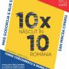 Prima secvență a turneului 10X10. NĂSCUT ÎN ROMÂNIA, la Frontiera Poesis din Satu Mare