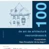 """Conferința """"100 de ani de arhitectură neoromânească"""", la Palatul Brâncovenesc"""