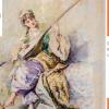 Acuarela lui Theodor Aman se dezvăluie publicului