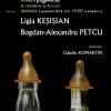 Ligia Keșișian și Bogdan-Alexandru Petcu, la Clubul de lectură Institutul Blecher