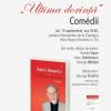"""Lansare de carte: """"Ultima dorință. Comedii"""", de Radu F. Alexandru"""