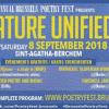 """""""Decarul"""" poetic românesc în proiectul Polifonic, dedicat Centenarului Marii Uniri, la #BrusselsPoetryFest"""