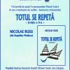 """Lansarea romanului """"Totul se repetă"""", de Nicolae Rusu"""