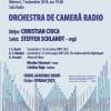 Să ascultăm cea mai mare orgă din sud-estul Europei la Sala Radio,  în concertul dirijat de CHRISTIAN CIUCA