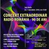 90 de ani de Radio România: concert aniversar la Sala Radio