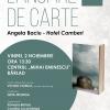 """""""Hotel Camberi"""", de Angela Baciu, ajunge și la Bârlad"""