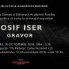 "Expoziție eveniment ""Iosif Iser – gravor"", la Biblioteca Academiei Române"