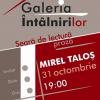 """Mirel Taloș și """"Colecționarul de nuduri"""", la Galeria Întâlnirilor"""