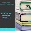 """Patru edituri din România au câștigat finanțare """"Europa Creativă"""""""