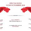 """Spectacolele lunii octombrie, la Teatrul de Operetă """"Ion Dacian"""""""